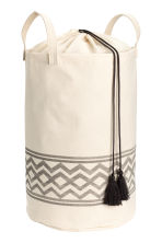 Laundry bag - Natural white - Home All | H&M CN 1